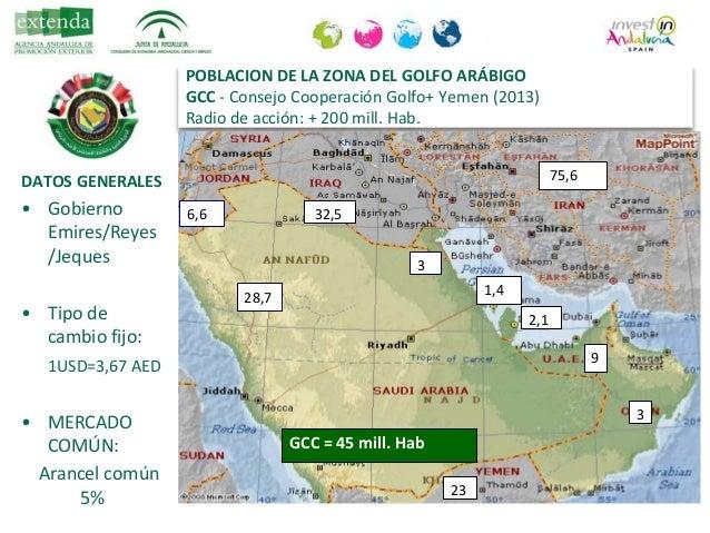 "Conferencia de Rosario Millán (Extenda): ""Emiratos Árabes Unidos como puerta de acceso a Oriente Medio"" Slide 3"