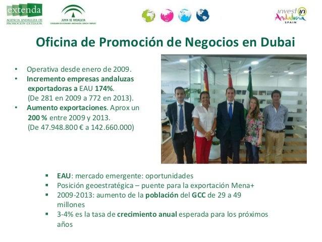 Y RESTO DE PAISES DEL GOLFO… dubai@extenda.es