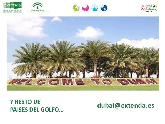 """Conferencia de Rosario Millán (Extenda): """"Emiratos Árabes Unidos como puerta de acceso a Oriente Medio"""""""