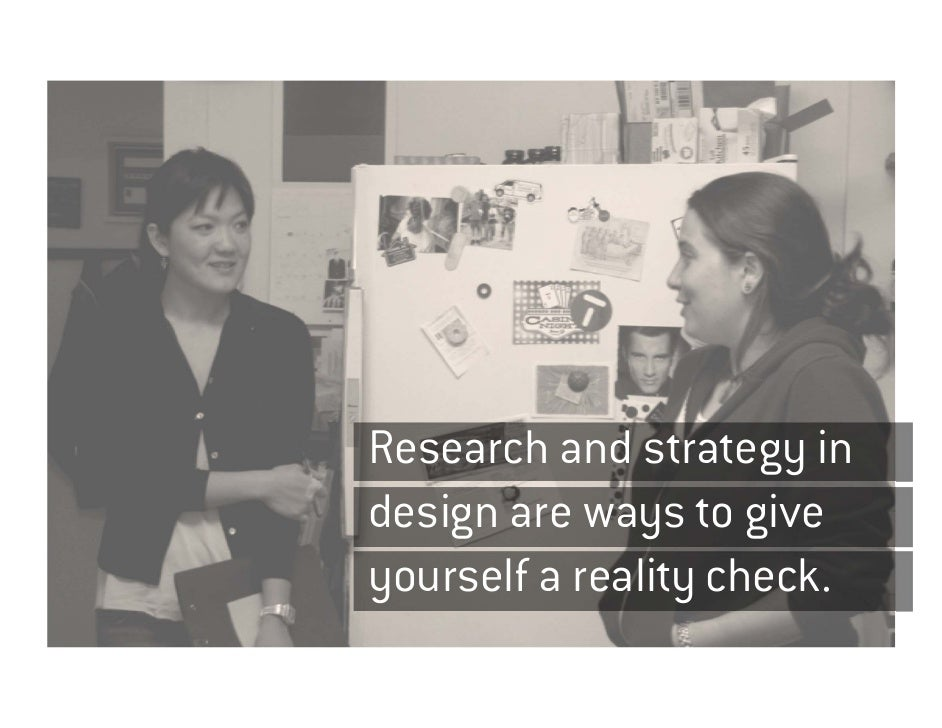 Design Research (is not Market Research) Slide 2