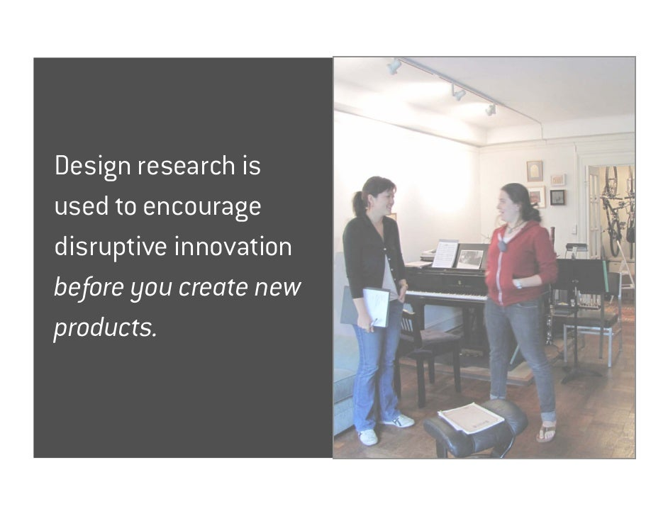 Design Research (is not Market Research) Slide 3