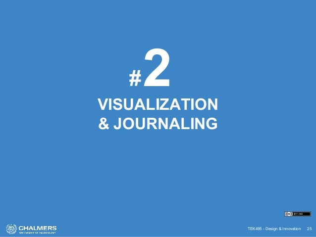 TEK495 - Design & Innovation 25 VISUALIZATION & JOURNALING 2#