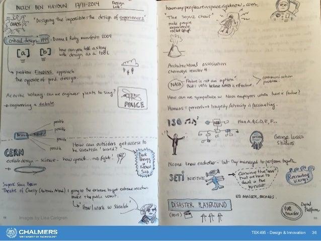 TEK495 - Design & Innovation 36 Examples Images by Lisa Carlgren