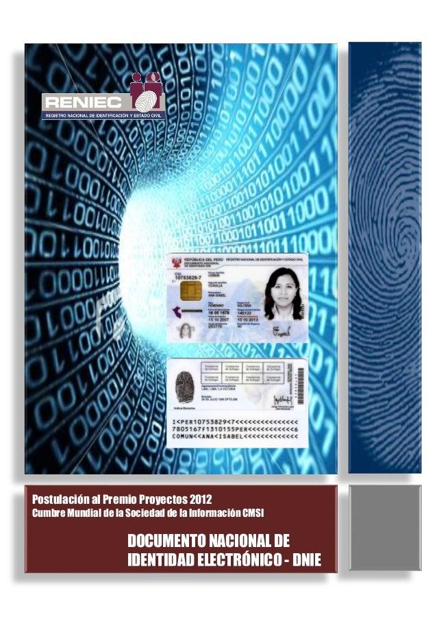 Requisitos Del Dni Electrónico Peruano Costos Y Trámite