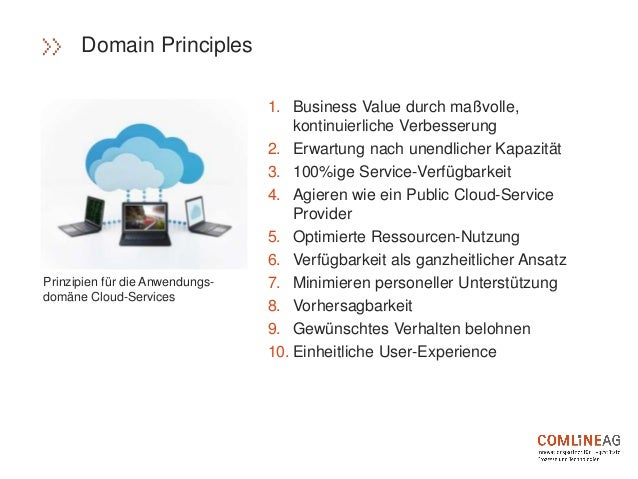 1. Business Value durch maßvolle, kontinuierliche Verbesserung 2. Erwartung nach unendlicher Kapazität 3. 100%ige Service-...