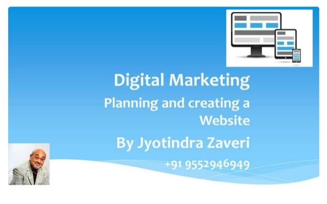 Planning and creating a Website - ICANN