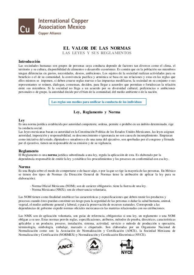 resumen ejecutivo el valor de las normas ica procobre mar 2016