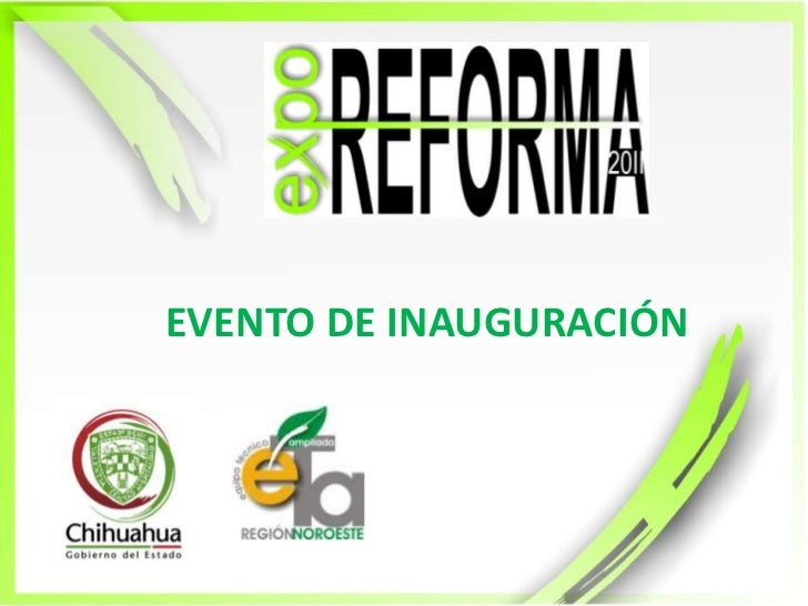 EVENTO DE INAUGURACIÓN<br />