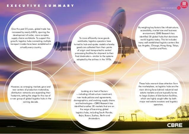 Global and Emerging Logistics Hubs 2015 Slide 3