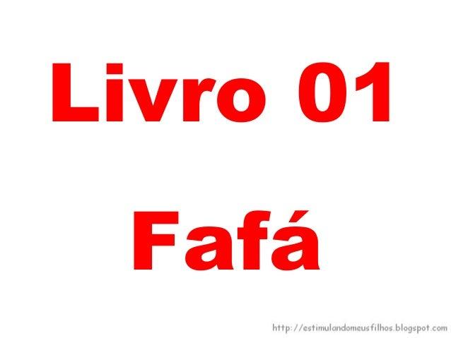 Livro 01Fafá