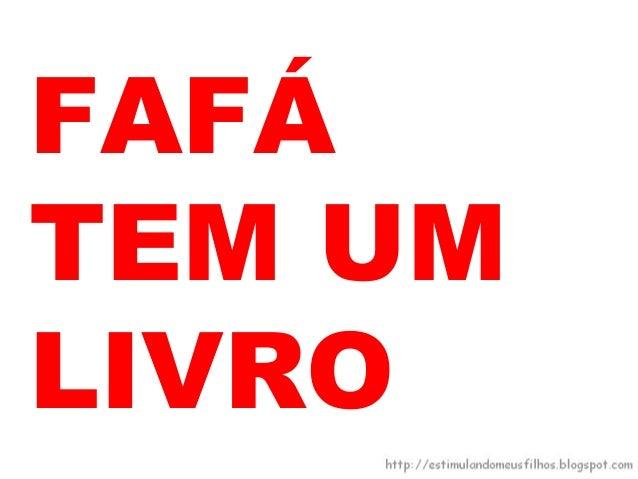FOFÃO ÉFÃ DEFILÉ