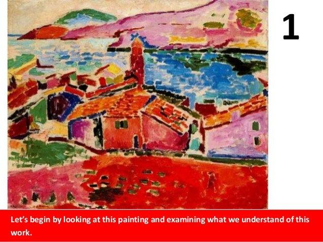 01 Fauvism Henri Matisse
