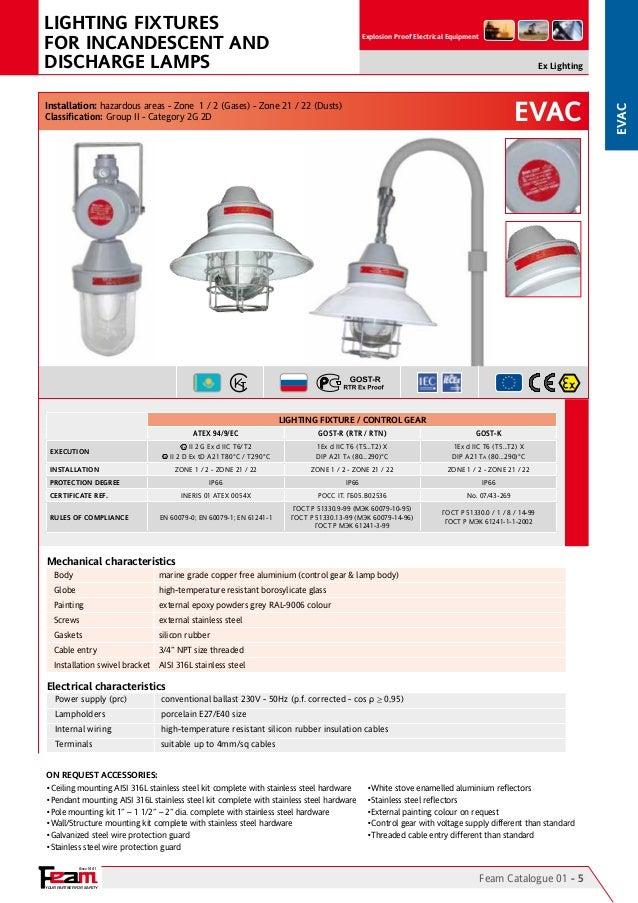 Phenomenal Feam Lighting Hazardous Area Explosion Proof Lighting Wiring Database Cominyuccorg