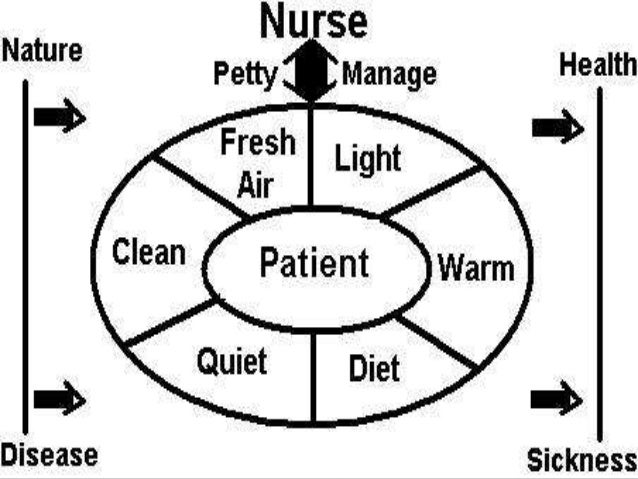 florence nightingale s conceptual model Florence nightingale created modern nursing and before nightingale's time, nursing was considered an action that did not demand any skill or training and was only for the old, sick and indigent women that were not suitable for other worthy jobs.