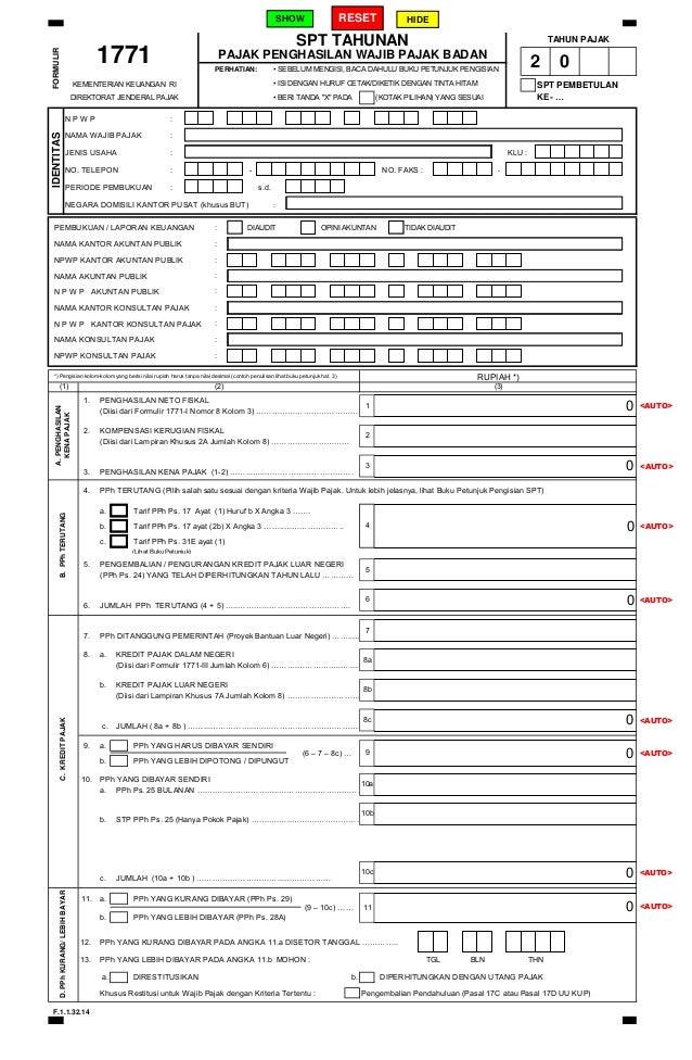 Friends World Download Formulir Spt 1770 S Pdf 2014