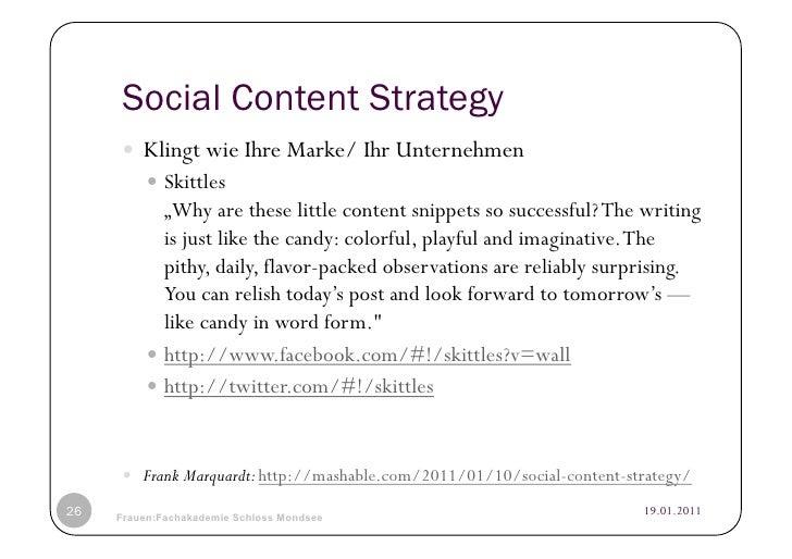 """Social Content Strategy      Klingt wie Ihre Marke/ Ihr Unternehmen           Skittles             """"Why are these litt..."""