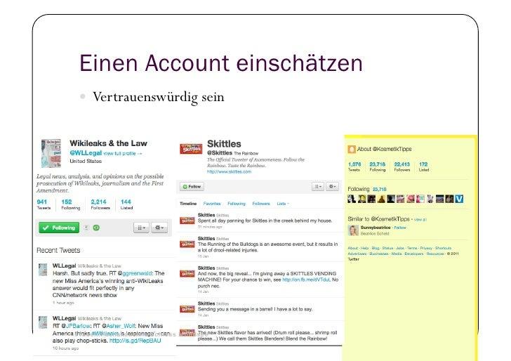 Einen Account einschätzen      Vertrauenswürdig sein41   © Heidrun Allert, Institut für Pädagogik, cau zu kiel   19.01.2...
