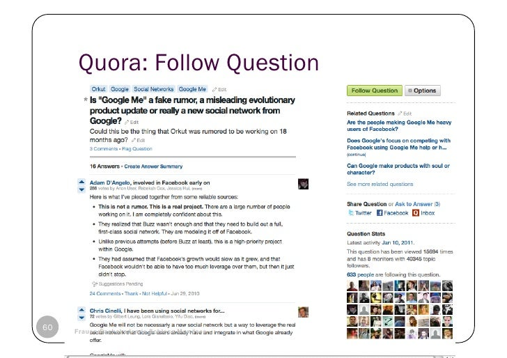 Quora: Follow Question60   © Heidrun Allert, Institut für Pädagogik, cau zu kiel   19.01.2011     Frauen:Fachakademie Schl...