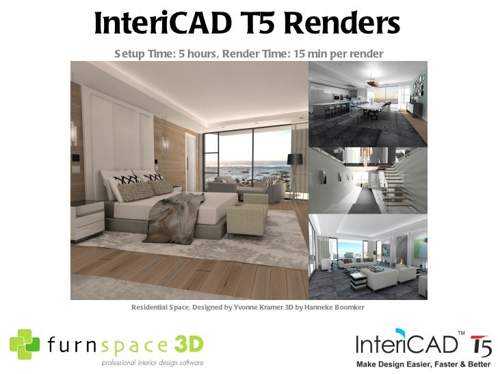 Furnspace 3d intericad t5 interior design software for Interior design software