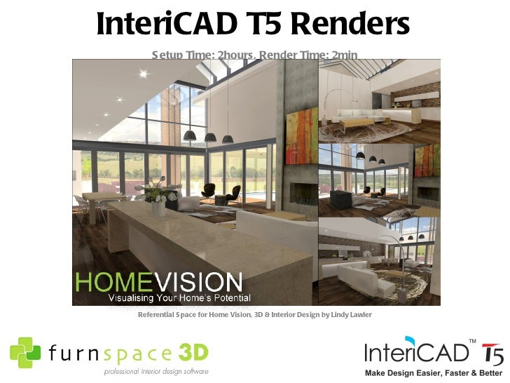 Interior Design By Lindy Lawler 5 InteriCAD T5 Renders
