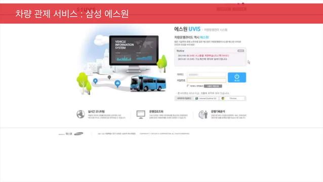 차량 관제 서비스 : 삼성 에스원