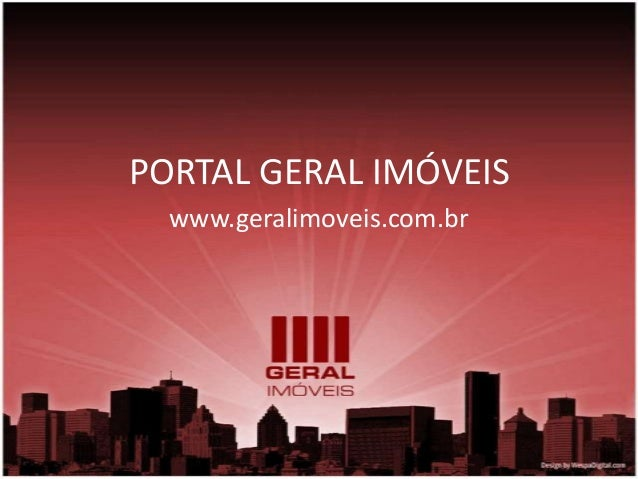 PORTAL GERAL IMÓVEIS  www.geralimoveis.com.br