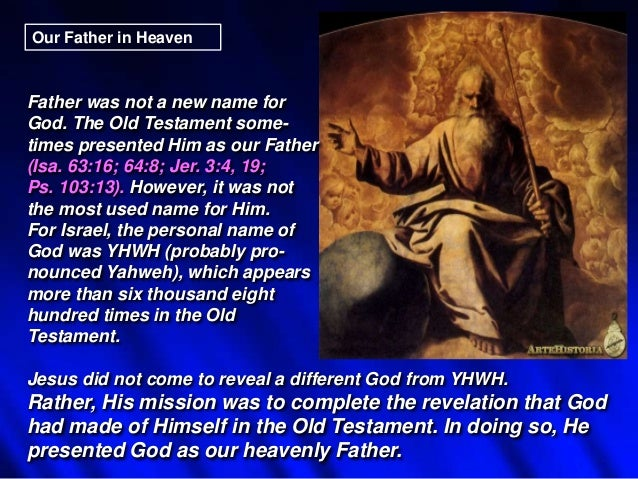 01 heavenly father