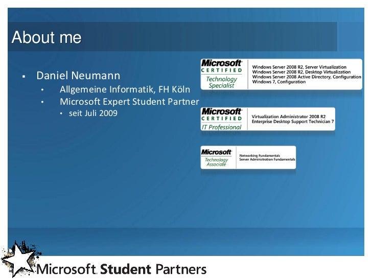Windows Server 2008 R2 – Hyper-V Slide 2