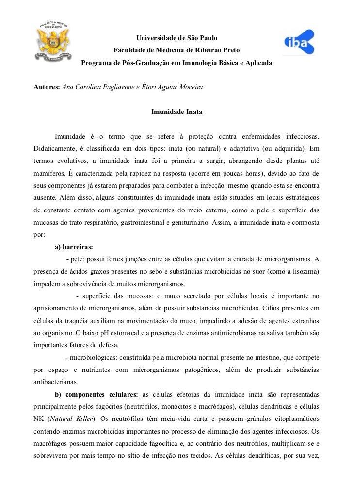 Universidade de São Paulo                            Faculdade de Medicina de Ribeirão Preto                   Programa de...