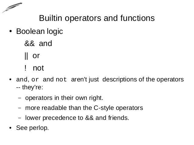 perl assignment operators Operators common perl 6 infixes, prefixes, postfixes, and more  infix operators can be combined with the assignment operator to modify a value and apply the .