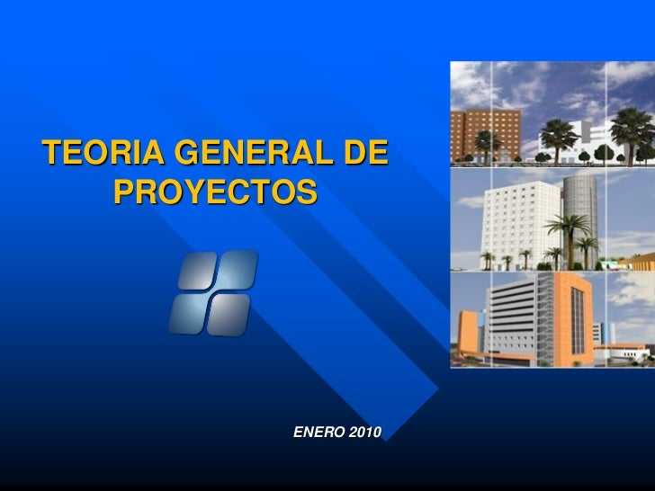 TEORIA GENERAL DE    PROYECTOS                 ENERO 2010