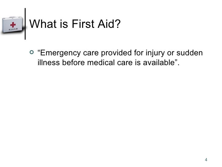 an introduction to the emergency first aid Homeopathic first aid kit homeopathy remedy kit skip to content homeopathy kits first aid emergency kit don't leave home without it for a good introduction to homeopathy.