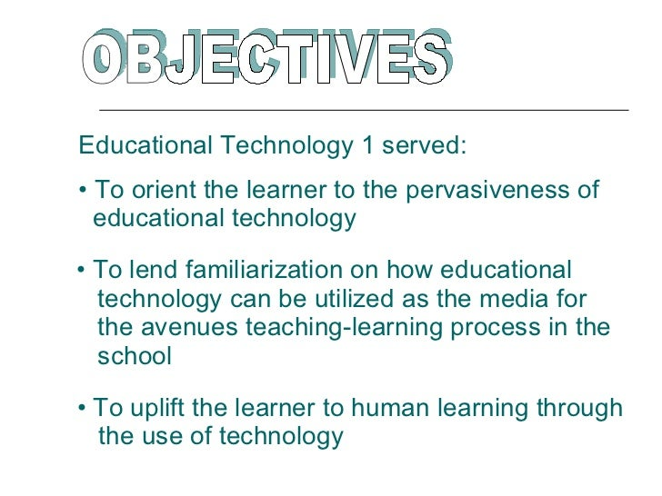 introduction of technology Develop a common set of technology competency expectations for university professors and candidates exiting teacher introduction.