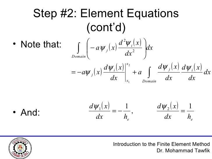 the finite element method pdf
