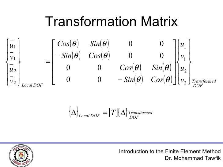 Transformation Matrix