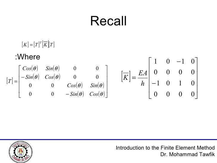 Recall Where: