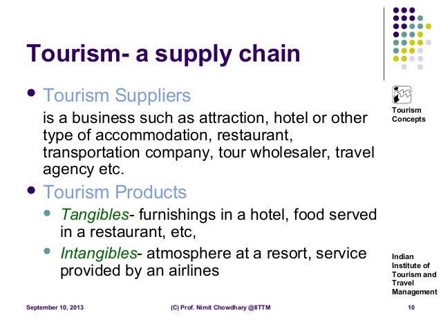 tourism chain definition