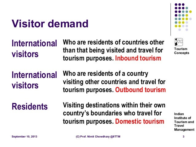 introduction of tourism Introduction to tourism and hospitality in bc was created by a team of authors  led  no textbook could cover, in depth, the tourism industry in bc and the global .
