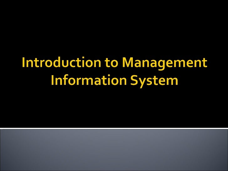    Subject: Intro. to Management Information System   Lecturer: Zaipul Anwar Bin Zainu     Tel:019-3262427     E-mail:...