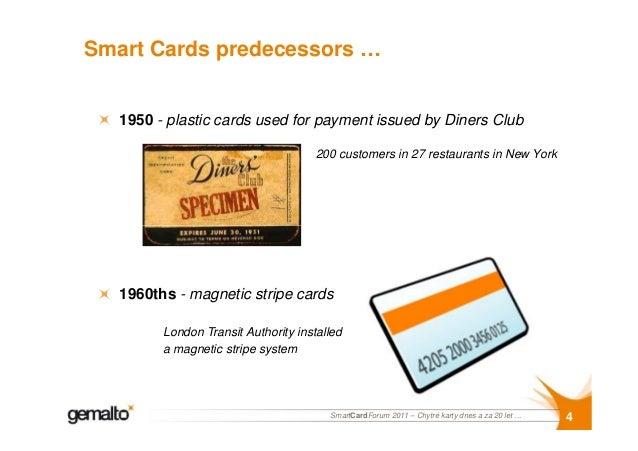 SmartCard Forum 2011 - Chytré karty dnes a za 20 let