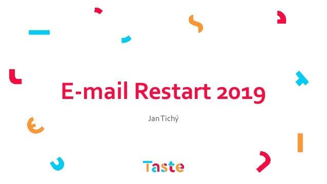 E-mail Restart 2019 JanTichý