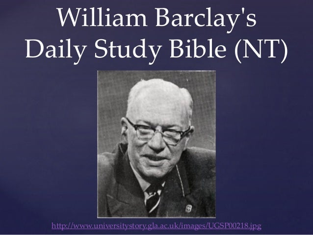 William Barclay Commentaries on the New Testament