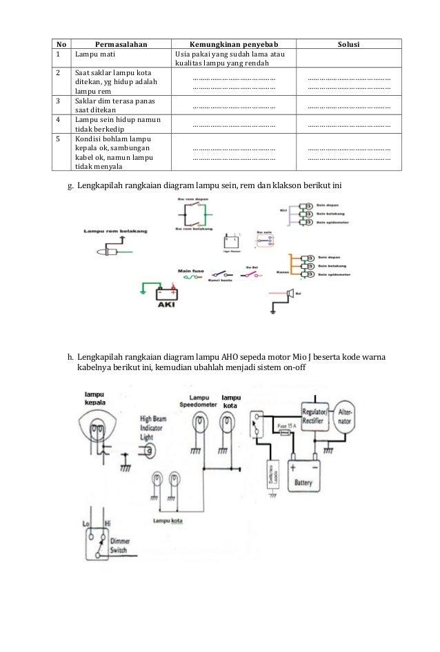 01 job sheet lampu dn sinyalinstrumen 3 asfbconference2016 Image collections