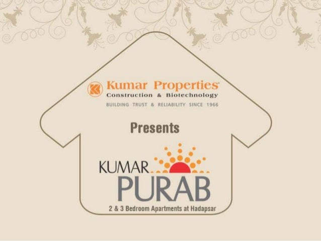 Flats near Wanowrie at Kumar Purab Exude a sense of Brilliancehttp://www.kumarworld.com/apartments-pune/Kumar-Purab-Hadaps...