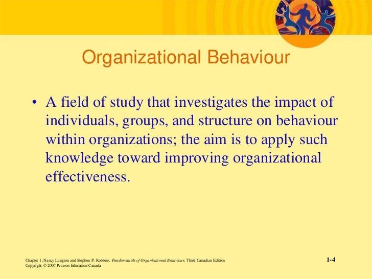 introduction of organizational behavior rh slideshare net Organizational Behavior 15th Edition PDF Organizational Behavior Textbook