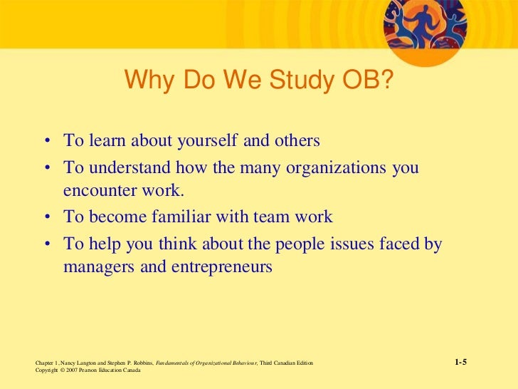 how does the study of organizational behavior help managers to be more effective Organizational behavior is an interesting subject it helps managers and leaders to understand, describe and modify an individual behavior many resources are available on this subject, studying which can be beneficial to managers organizational behavior involves the study of attitude, perception, learning and moral ethics at individuals point.