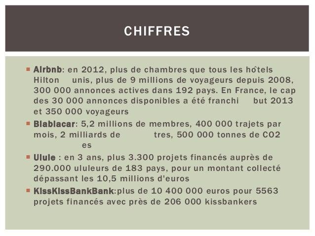 QUI CONSOMME AINSI ?  83% des français valorisent l'usage sur la propriété  46% veulent consommer mieux  48% des França...