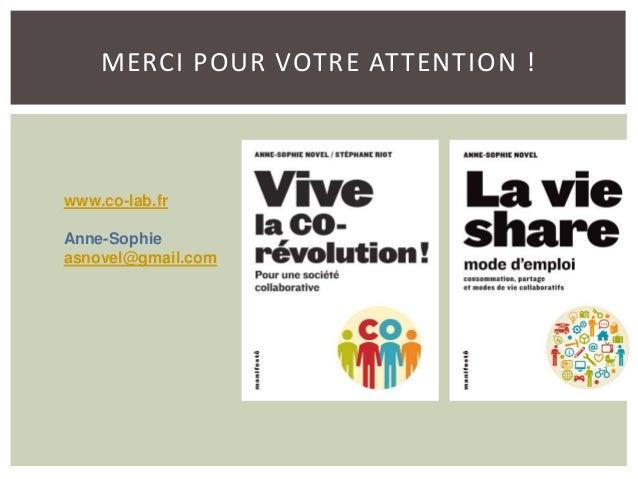 """Anne-Sophie Novel - Journaliste-blogueuse au Monde et auteur du livre """"La Vie share, mode d'emploi"""" - TechnoArk 2014"""