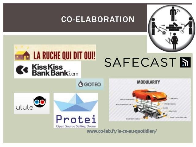 LE TROC  www.co-lab.fr/le-co-au-quotidien/