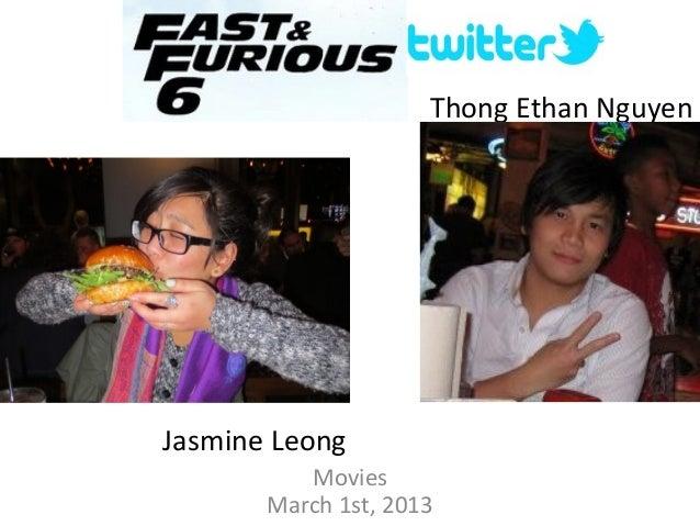 Thong Ethan NguyenJasmine LeongMoviesMarch 1st, 2013
